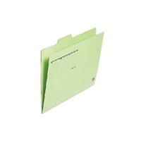 カットフォルダー 4山 FL-064IF A4 緑