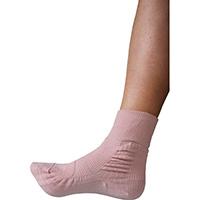 転倒予防靴下アガルーノ ピンク24-25cm