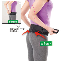 腰部骨盤ベルト M-L