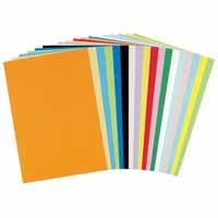色画用紙 やよいカラー 4ツ切100枚入/1包