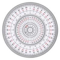 全円分度器 C-12 12cm