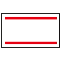 ラベラーはりっ子用ラベル 赤2本線 5巻