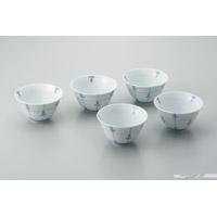 反型煎茶碗 めばえ 5客セット