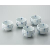 ツボ型煎茶碗 めばえ 5客セット
