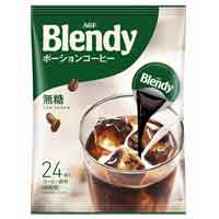 ブレンディポーションコーヒー無糖24個