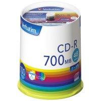 データ用CD-R 100枚入り SR80FP100V1E