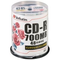 データ用CD-R 100枚入り SR80PP100