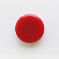 カラーマグネット MR-30 赤 30mm 10個
