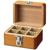 木製かけ錠印箱 Y70 豆