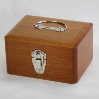 木製かけ錠印箱 Y71 小
