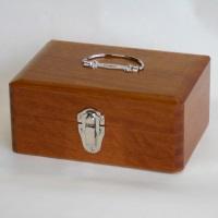 木製かけ錠印箱 Y72 中