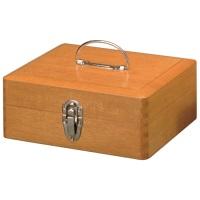 木製かけ錠印箱 Y73 大