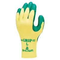 手袋グリップソフト 5双 パックグリーン L