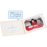 お手軽写真台紙ランス2面ポストカードク
