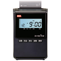 タイムレコーダ ER-110S5CW ブラック