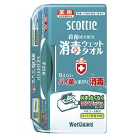 スコッティ消毒ウエット本体40枚x12