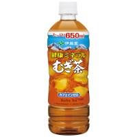 ※◆健康ミネラルむぎ茶P650ml/24本2箱