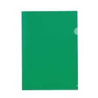 カラーホルダー A4緑20枚 D611J-GR