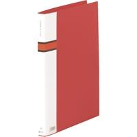ロングZファイルPP 572 A4S 赤