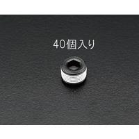 EA949GR-3 R3/8テーパーネジプラグ鉄/40個