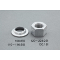EA949PW-120 M20ユルミ止メnut溶融亜鉛/2個