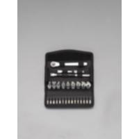 EA617AG-122 1/4DRソケットレンチセット