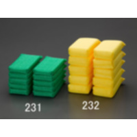 EA928AS-231 高耐久ネットスポンジ緑/薄手
