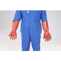 [M] 高圧用絶縁手袋(胴太型/7000V)