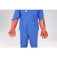 [LL] 高圧用絶縁手袋(胴太型/7000V)