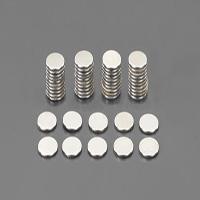 φ 8x1.0mm 磁石/S極(粘着付/50コ)