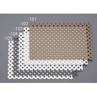 450x900mmパンチングアルミ複合板ホワイト