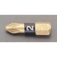 PZ2x 25mmPoziドライバビット ダイヤモンド