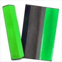200x130mmフルハ-ネス用反射ベルト 緑/2枚