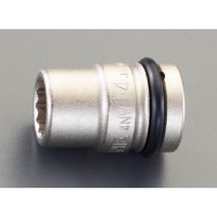 1/2DR/17mm インパクトソケット(12角)