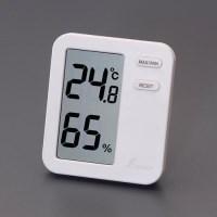 80x70mm デジタル最高・最低温度・湿度計