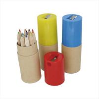 カラーペンシル12P 鉛筆削付 511-03A