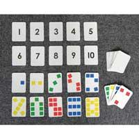 色と数の学習カード N42