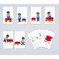 空間位置関係カード 125