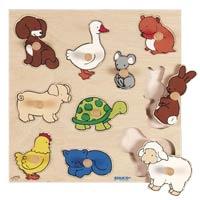 つまみ付きパズル(動物)522637