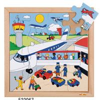 木製ジグソーパズル(空港) 522067