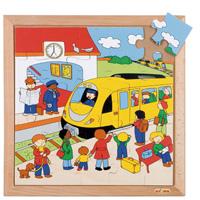 木製ジグソーパズル(駅) 522068