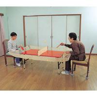 落球防止ネット付卓球台 おちづさん AZ001