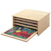 木のジグソーパズル整理箱 AS1000