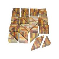 寄せ木三角パズル CA010