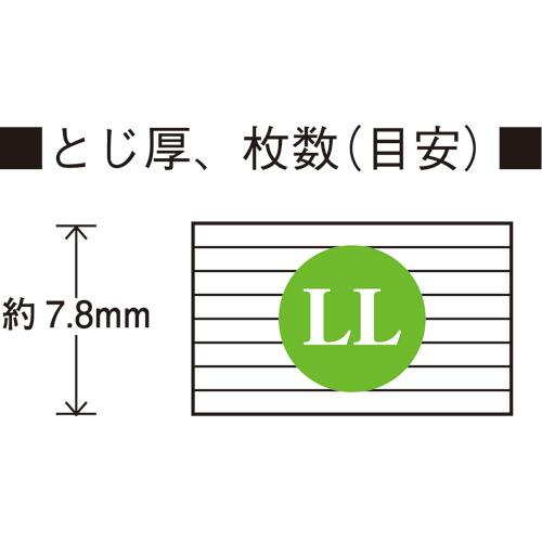 スライドクリップ LL 10個 B003J-10_画像04