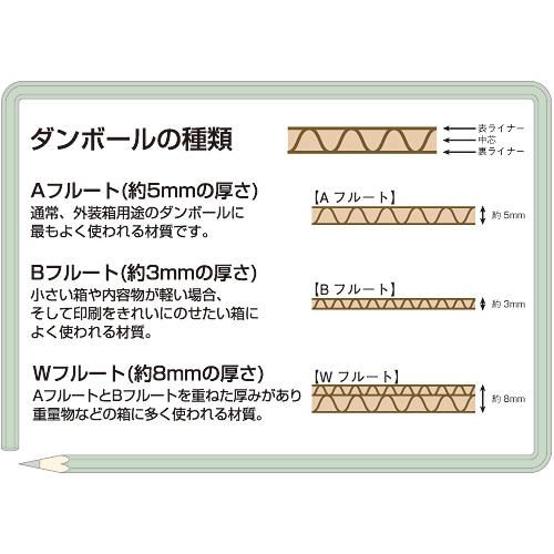 WF穴付ダンボール箱 大大10枚 B243J-LL_画像02