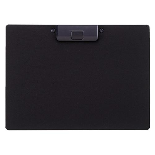 クリップボード 捺印対応 A-2985-24 A4S 黒_画像01