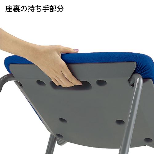会議イス CM350-MY ブルー_画像03