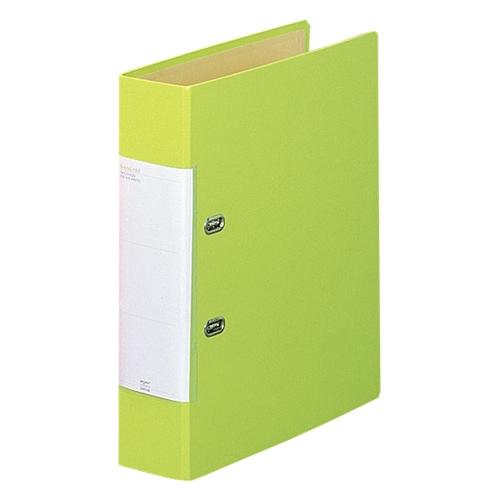 D型リングファイル G2250-6 A4S 黄緑_画像01