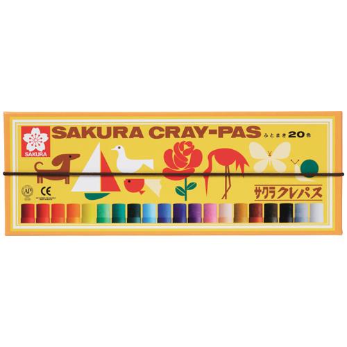 クレパス LP20R 太巻 20色(紙ケース)_画像02